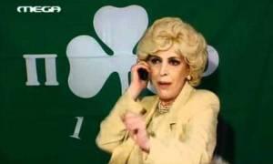 Η Ντένη Μαρκορά για το ντέρμπι στο ΟΑΚΑ (photo)