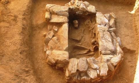 Σημαντικό εύρημα στην Λέσβο: Βρέθηκε ασύλητος Μυκηναϊκός τάφος στο Ντιπί