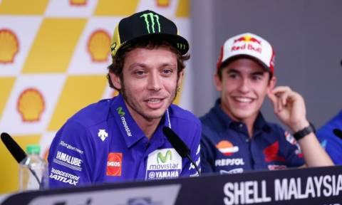 MotoGP Grand Prix Μαλαισίας: Rossi εναντίον Marquez; (photos)
