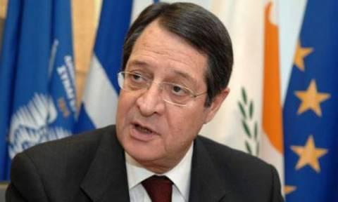 Αναστασιάδης: Με τις δυνάμεις ενωμένες θα λύσουμε το Κυπριακό