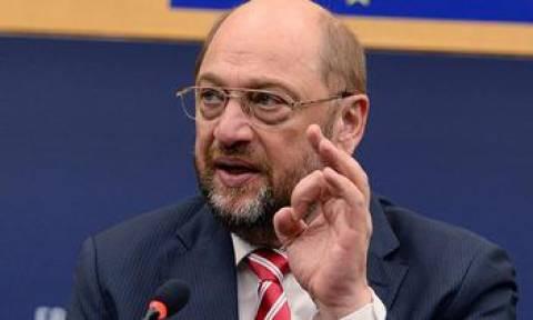 Διασφάλιση των εξωτερικών συνόρων της Ευρώπης ζητά ο Μ. Σουλτς