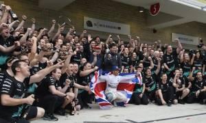 F1 Grand Prix Αμερικής: Νίκη και τίτλος για τον Hamilton (photos)