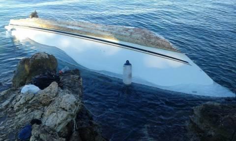 Υγρός τάφος και πάλι το Αιγαίο - Μια γυναίκα νεκρή σε ναυάγιο στη Μυτιλήνη