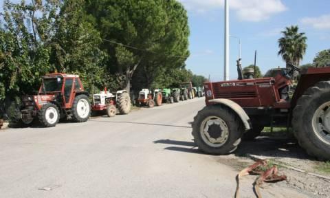 Ημαθία: Για πέμπτη μέρα στο μπλόκο της Κουλούρας οι αγρότες