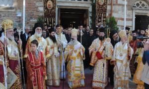 Λιτανεία του Αγίου Δημητρίου στην Θεσσαλονίκη (video)