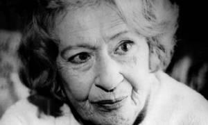 Σαν σήμερα το 2009 πέθανε η συγγραφέας και δημοσιογράφος Έλλη Παππά