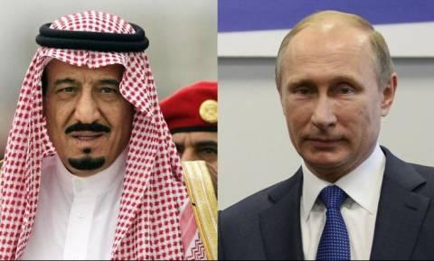 Η Συρία στο επίκεντρο της τηλεφωνική συνδιάλεξης του Πούτιν με τον βασιλιά Σαλμάν