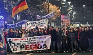 Γερμανία: Χιλιάδες υποστηρικτές της Pegida διαδήλωσαν στη Δρέσδη