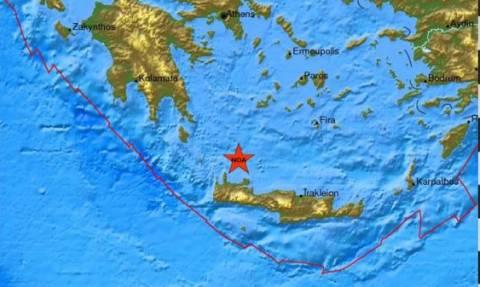 Σεισμική δόνηση 4,3 Ρίχτερ στην Κρήτη