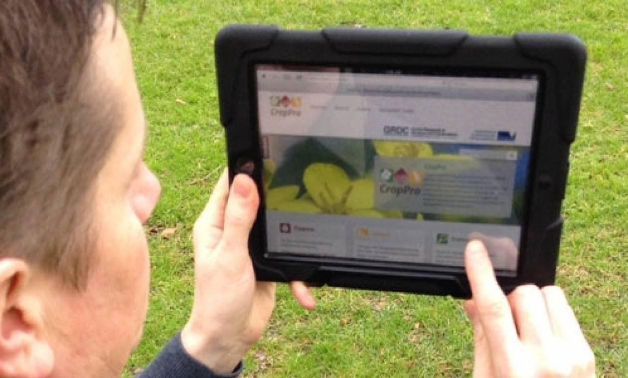 Νέα πρωτοποριακή εφαρμογή για τον εντοπισμό παθογενειών στις καλλιέργειες