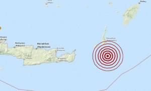 Σεισμός 3,7 Ρίχτερ νότια της Καρπάθου (pic)