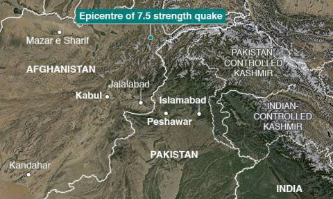 Afghanistan-Pakistan quake: Cold puts homeless at risk