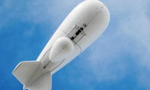 Στρατιωτικό αερόπλοιο... το «σκασε» και πετά ακυβέρνητο πάνω από την Πενσιλβάνια (pics)
