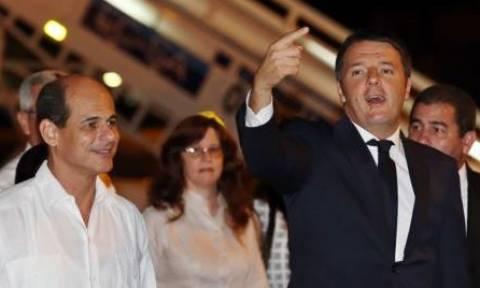 Επίσκεψη στην Κούβα και... άθληση για τον Ματέο Ρέντσι (pics)