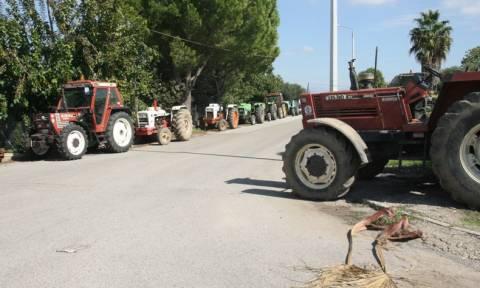 Συμβολικός αποκλεισμός της Εγνατίας από αγρότες και κτηνοτρόφους
