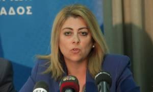 Για κακούργημα διώκεται η Κατερίνα Σαββαΐδου