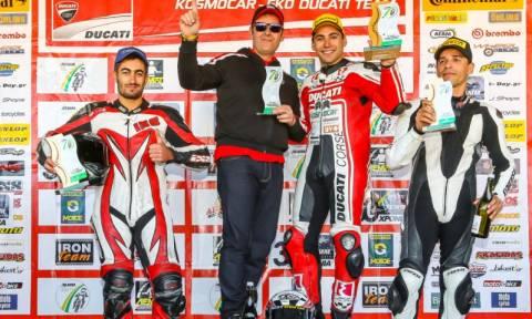 Παν. Πρωτάθλημα Μοτοσυκλετών: Ducati και Πίππος νικητές στα Μέγαρα