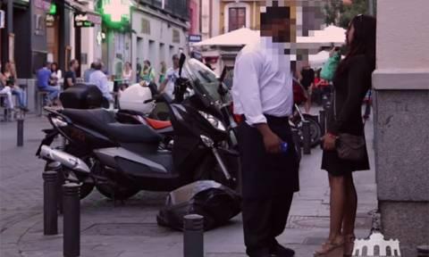 Συγκλονιστικό βίντεο: Γυναίκα παριστάνει τη μεθυσμένη για να δοκιμάσει τους άντρες