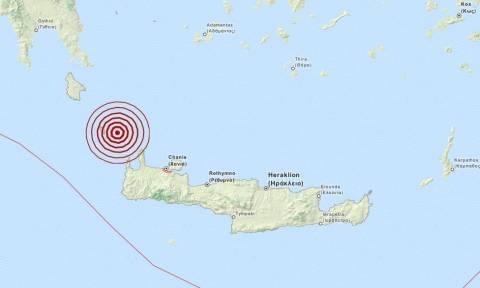 Σεισμός 3,5 Ρίχτερ ανατολικά των Αντικυθήρων (pic)