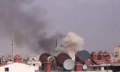 Τουλάχιστον 40 νεκροί από επίθεση των δυνάμεων του Άσαντ με ρουκέτες