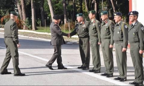Επίσκεψη Α/ΓΕΣ στην I Μεραρχία Πεζικού - Επίδοση Διαμνημόνευσης σε Μόνιμο Υπάλληλο (pics)