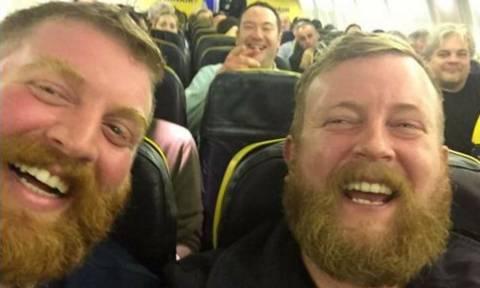 Απίστευτο και όμως αληθινό: Γνώρισε το… σωσία του μέσα στο αεροπλάνο (photos)