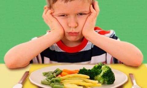 Το παιδί μου είναι επιλεκτικό στο φαγητό. Πώς να το αντιμετωπίσω  c9891c94501