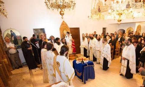 Αγία Νάπα: Εγκαίνια Ναού από τον Μητροπολίτη Κωνσταντίας-Αμμοχώστου