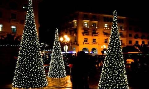 Νωρίτερα φέτος τα Χριστούγεννα στη Θεσσαλονίκη