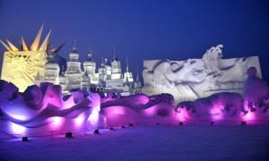 Το Φεστιβάλ Πάγου στην Κίνα σας περιμένει τον Ιανουάριο