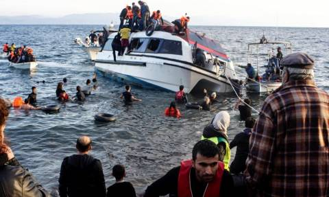 Μυτιλήνη: Ούτε ο χειμωνιάτικος καιρός σταματά τις βάρκες που φτάνουν από την Τουρκία