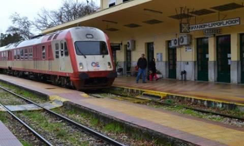 Βλάβη στη σιδηροδρομική γραμμή Αθηνών - Λαμίας