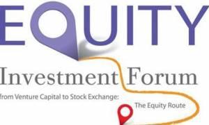 Έως τις 6 Νοεμβρίου, η υποβολή επιχειρηματικών σχεδίων για το Equity Investment Forum
