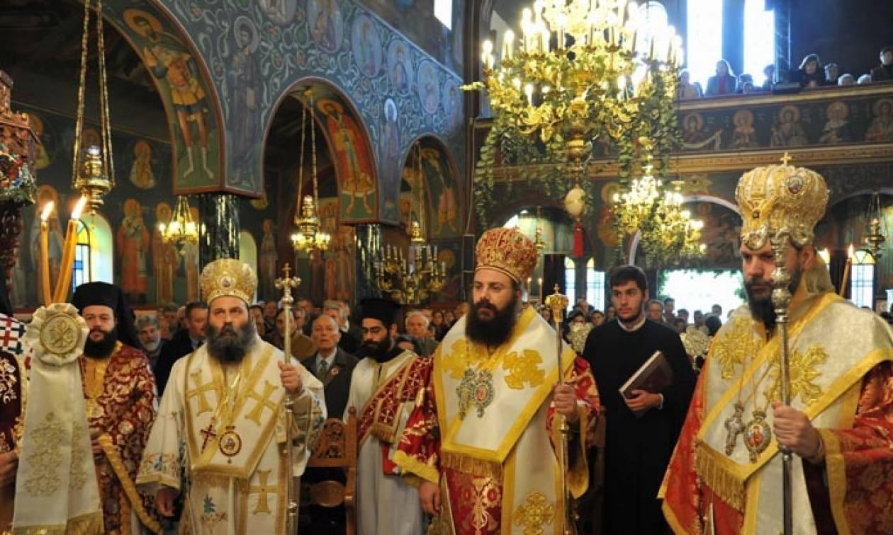 Πολυαρχιερατικό συλλείτουργο για τον Άγιο Γεώργιο τον Νεαπολίτη