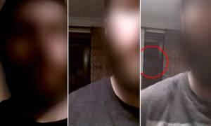 Ανατριχιαστικό: Βιντεοσκόπησε φάντασμα να τον παρακολουθεί! (video)