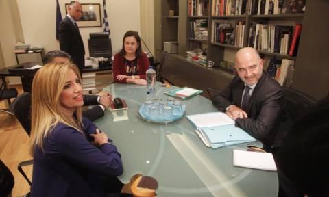 Γεννηματά προς Μοσκοβισί: Όχι στους πλειστηριασμούς πρώτης κατοικίας