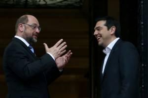 Το πρόγραμμα της αυριανής επίσκεψης του προέδρου του Ευρωπαϊκού Κοινοβουλίου Μάρτιν Σουλτς