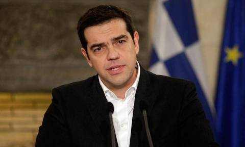 Commissioner Moscovici meets Tsipras