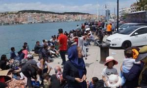 Λέσβος: Αποκλεισμένοι χιλιάδες πρόσφυγες λόγω απεργία της ΠΝΟ