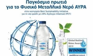 Διεθνής διάκριση για το Νερό ΑΥΡΑ και την Coca-Cola Τρία Έψιλον στα Global Bottled Awards 2015
