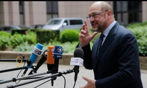 Αποκλειστική συνέντευξη Σουλτς στο CNN Greece