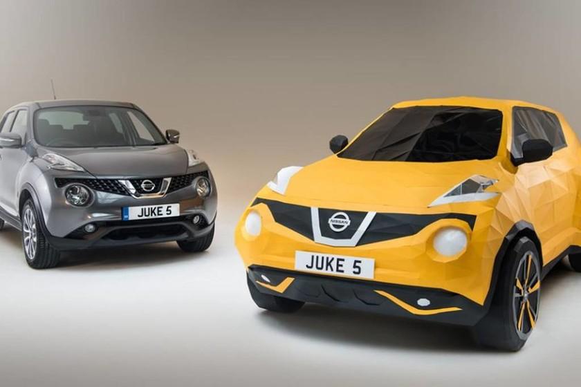 Nissan: Ένα JUKE φτιαγμένο από χαρτί