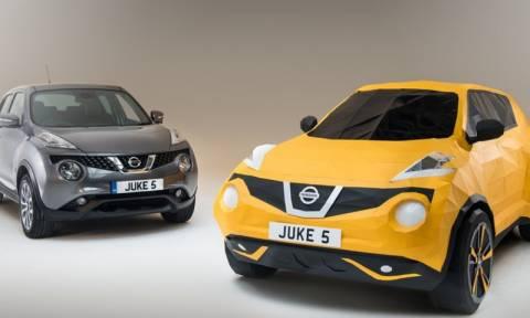 Nissan: Ένα JUKE φτιαγμένο από χαρτί (photos video)