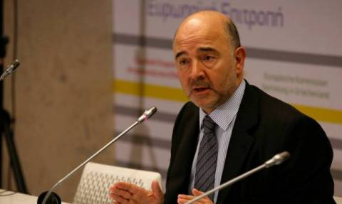 Commission committed to help for more growth and jobs in Greece, Moscovici say