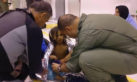 Ολονύχτια επιχείρηση διάσωσης προσφύγων-ναυαγών στην Κύπρο