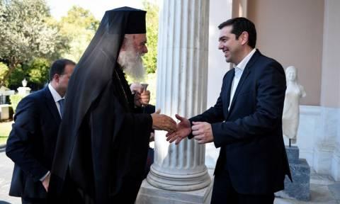 Η αξιοποίηση της εκκλησιαστικής περιουσίας στη συνάντηση Τσίπρα - Ιερώνυμου