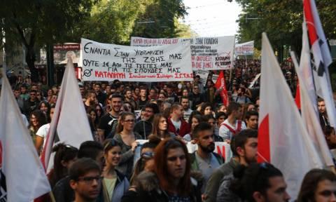 Μεγάλο πανεκπαιδευτικό συλλαλητήριο πραγματοποιήθηκε στο κέντρο της Αθήνας (photos)