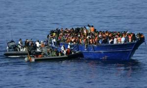 Το ισπανικό Πολεμικό Ναυτικό διέσωσε 517 πρόσφυγες στα ανοικτά της Λιβύης