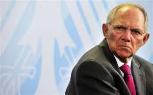 Σόιμπλε: Η Ευρώπη θα καταστραφεί αν δεν ελέγξει τα σύνορά της