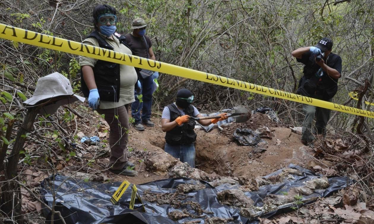 Mεξικό: Βρέθηκε ομαδικός τάφος - Ύποπτοι εγκληματικής ενέργειας αστυνομικοί
